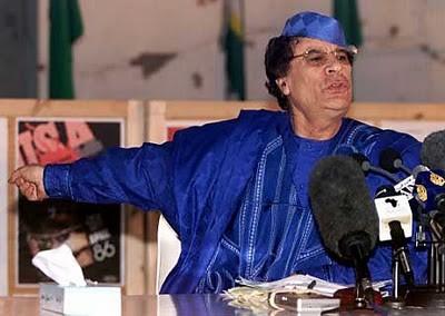 El líder libio, Muamar el Gadafi / Foto:paisse