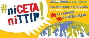 Cartel anti CETA y TTIP