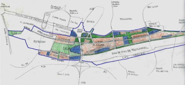 Plano Madrid Norte